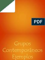 grupos contemporaneos