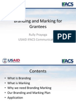 Branding and Marking for Grantees