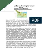 Pengembangan Daerah Rawa Propinsi Sumatera Selatan