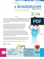 The Boardroom Executive_ Maiden Edition From Weisermanner, Healthcare and Hospital Management !