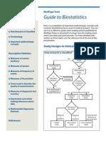 Guide to Bio Statistics