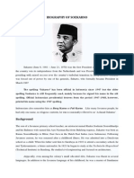 Biography of Soekarno