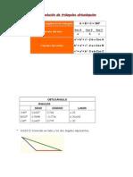 Resolución de triángulos OBTUSANGULO