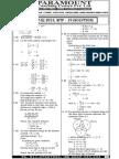 Ssc Mains (Maths) Mock Test-19 (Solution)