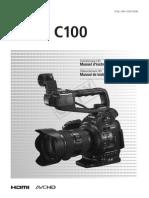 Manual Canon Eosc100 Im3 Es