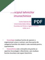 principiul tehnicilor imunochimice