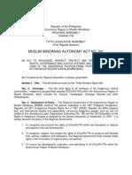 MMA Act No. 241