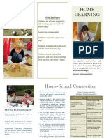 Home Learning Brochure