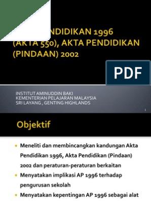 Abm Akta Pendidikan Ver 2007