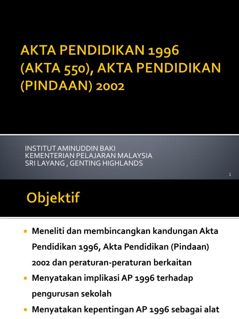 Institut Aminuddin Baki Kementerian Pelajaran Malaysia Sri Layang Genting Highlands