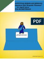 """Bahan Kreativitas Sekolah Minggu """"Minggu Kerahiman Ilahi"""" 27 April 2014 PIA Kumetiran"""