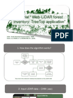 Web-LiDAR forest inventory