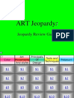 Art Jeopardy 1