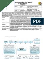 Carta Descriptiva Nosologia, Noso carta decriptiva, carta nosología, carta.