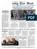 The Daily Tar Heel for April 1, 2014