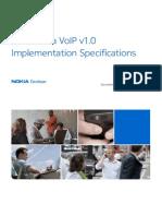 Asha VoIP v1 0 Implementation Specifications v1 0 En
