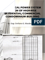 Electrical Power System Design of High-Rise Residential