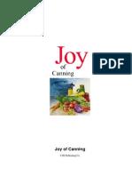 Joy of Canning