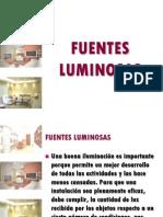 10 Fuentes Luminosas