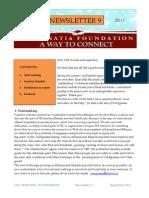 VEF Newsletter 9, September 2011