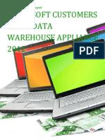 Microsoft Customers using Data Warehouse Appliance 2012 - Sales Intelligence™ Report