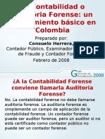 la contabilidad o auditoria forense