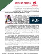 IU contraria a pedir una línea de crédito de 20M€ fruto del Plan de ajuste y la reforma del art. 135 de la Constitución
