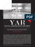 YAR - Young Arbitration Review - Edition 10