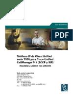 Manual - Telefono IP Cisco 7970 Series
