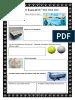 buoyancy evaluation term one 2014