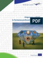 Asigurarea calităţii in formarea profesorilor in Europa