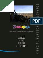 Catálogo Especial Eventos y Congresos