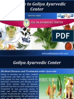 Types of Diseases and Ayurvedic Treatments – Goliya Ayurvedic Center