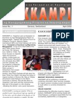 KAKKAMPI Newsletter Vol 1 No 1