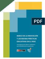 Marco de la Innovación y Buenas Prácticas Educativas en el Perú