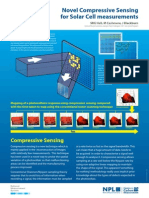 Compressed sensing for PV measurements