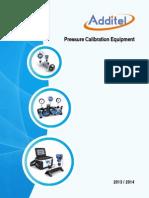 Additel Catalog 2013