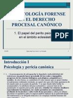 psicologia forense en el proceso canonico