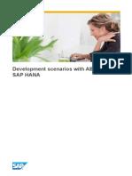 Development Scenarios With ABAP and SAP HANA