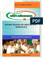 Mee Seva Hand Book Final