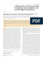Stable Aqueous Dispersions of Noncovalently Functionalized Graphene From Graphite and Their Multifunctional High-Performance Applications