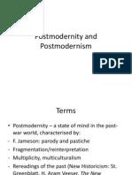 4 Postmodernity and Postmodernism