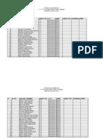 Inscripcion Por Curso, Division y Turno. T. Formativo