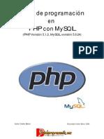 Curso de programacion con PHP y MySQL Español