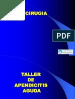 Taller de Apendicitis Aguda