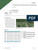 SolarGIS iMaps Sample Report