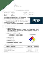MSDS Limpiador Neutro N -¦ 3 Concentrado