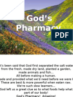 God's Pharmacy, Powerful POWER POINT PRESENTATION