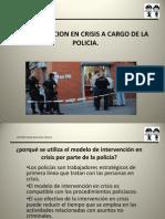 Intervencion en Crisis a Cargo de Policias