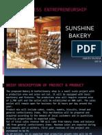Ppt fon Bakery Idea